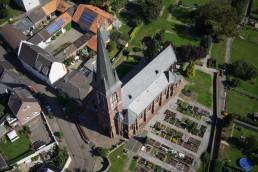 Kirche – Luftaufnahme in Titz